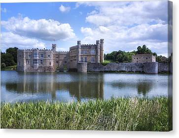 Leeds Castle - England Canvas Print by Joana Kruse