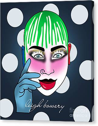 Leigh Bowery  Canvas Print by Mark Ashkenazi