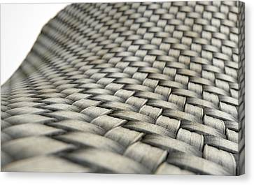 Micro Fabric Weave Dirty Canvas Print