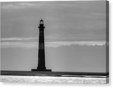 Morris Island Lighthouse Canvas Print by Dustin K Ryan