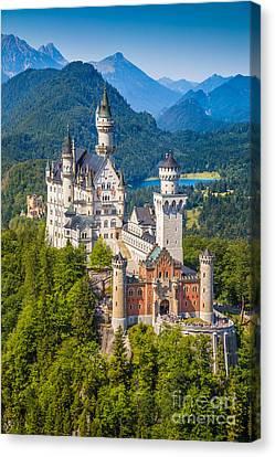 Neuschwanstein Fairytale Castle Canvas Print