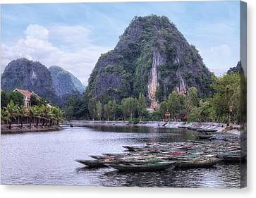 Indochina Canvas Print - Ninh Binh - Vietnam by Joana Kruse