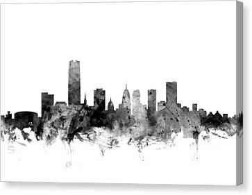 Oklahoma City Skyline Canvas Print