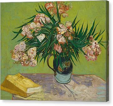 Oleanders Canvas Print by Vincent van Gogh