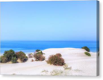 Blau Canvas Print - Patara Beach - Turkey by Joana Kruse