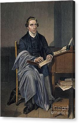 Patrick Henry (1736-1799) Canvas Print by Granger