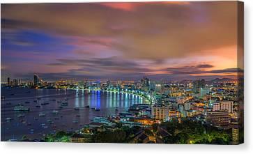 Pattaya City Canvas Print