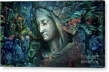 Peaceful Madonna Canvas Print