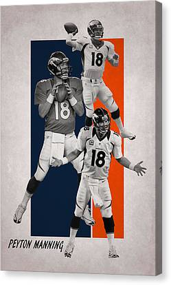 Peyton Manning Denver Broncos Canvas Print