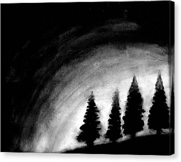 4 Pines Canvas Print