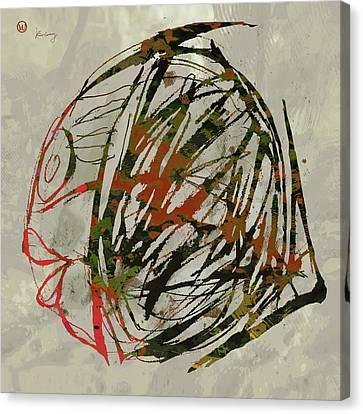 Popular Canvas Print - Pop Art Fish Poster by Kim Wang