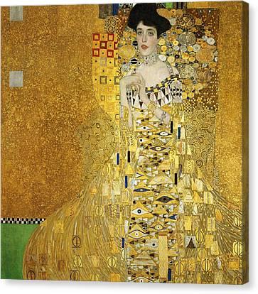 Portrait Of Adele Bloch-bauer I Canvas Print