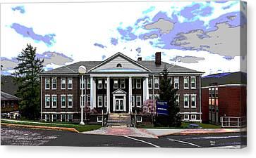 Potomac State College Canvas Print
