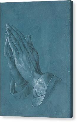 Albrecht Canvas Print - Praying Hands by Albrecht Durer