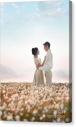 Regency Couple Canvas Print by Lee Avison