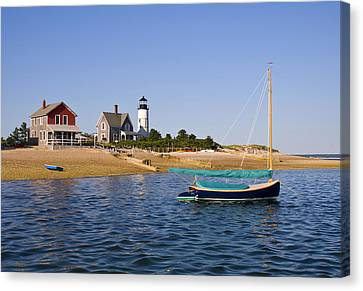 Sandy Neck Lighthouse Canvas Print