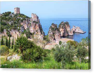 Sicily Canvas Print - Scopello - Sicily by Joana Kruse