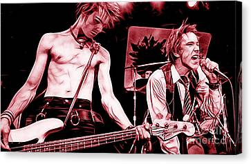 Sex Pistols Collection Canvas Print