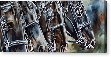 4 Shires Canvas Print by Nadi Spencer