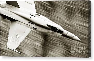 Speed Of Sound Canvas Print by Angel  Tarantella