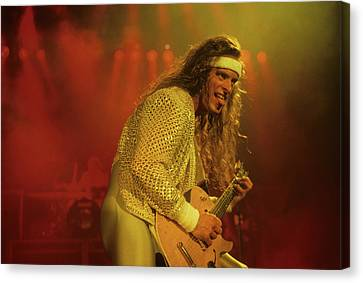 Ted Nugent Canvas Print by Rich Fuscia