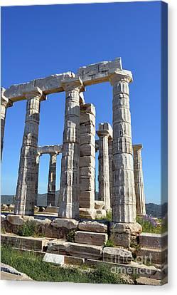 Temple Of Poseidon Canvas Print
