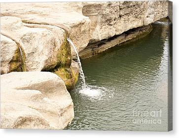 Canvas Print featuring the photograph Texas - Mckinney Falls State Park  by Ray Shrewsberry