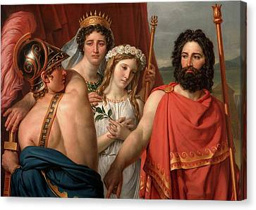 The Anger Of Achilles Canvas Print