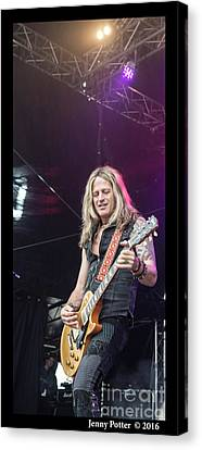 The Dead Daisies  Canvas Print by Jenny Potter