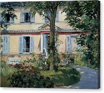 The House At Rueil Canvas Print