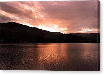 The Lake District Canvas Print by Martin Newman