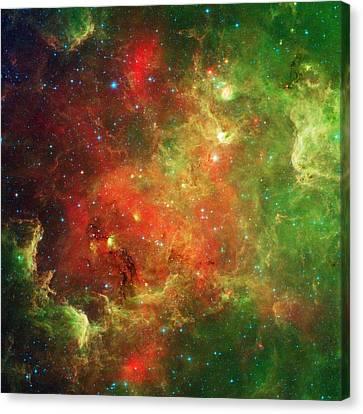 The North America Nebula Canvas Print by American School