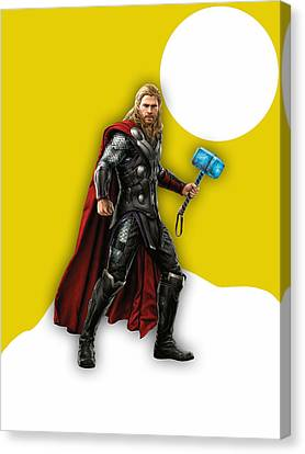 Thor Collection Canvas Print by Marvin Blaine