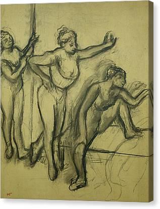 Three Dancers Canvas Print