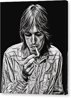Tom Petty Collection Canvas Print