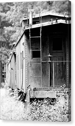 Train Canvas Print by Sebastian Musial