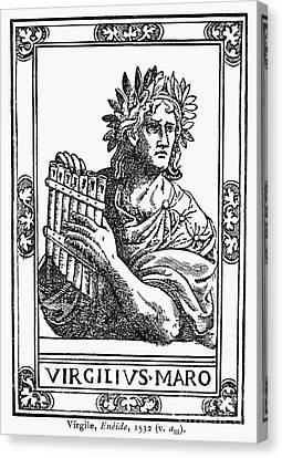 Virgil (70-19 B.c.) Canvas Print