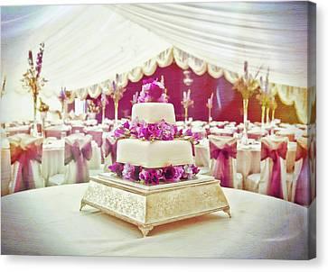 Posh Canvas Print - Wedding Cake by Tom Gowanlock