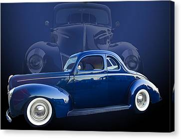 40 Ford Coupe Canvas Print by Jim  Hatch