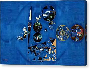 Abstract Painting - Onyx Canvas Print by Vitaliy Gladkiy