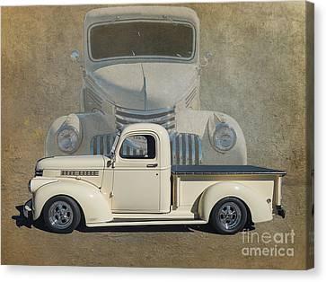 41 Chev Canvas Print by Jim  Hatch