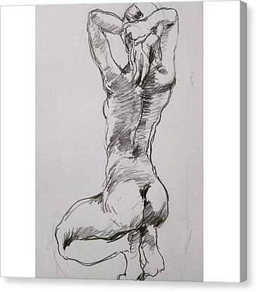 Figure Canvas Print