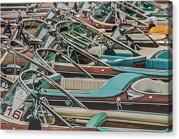 Portofino Italy Canvas Print - Riva Aquarama by Steven Lapkin