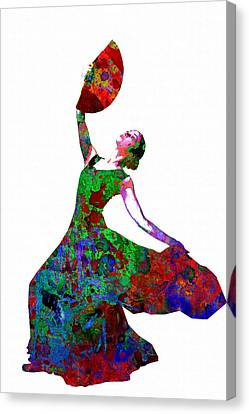Dance Canvas Print by Elena Kosvincheva