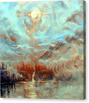 Earth Light Series Canvas Print