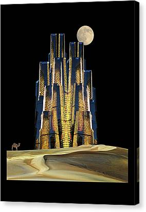 Canvas Print featuring the photograph 4365 by Peter Holme III