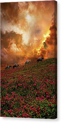 Canvas Print featuring the photograph 4370 by Peter Holme III
