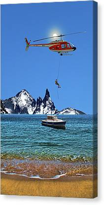 Canvas Print featuring the photograph 4372 by Peter Holme III
