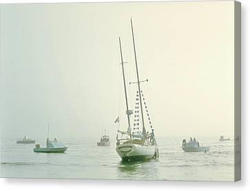 Canvas Print featuring the photograph 4373 by Peter Holme III