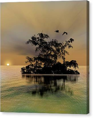 Canvas Print featuring the photograph 4374 by Peter Holme III